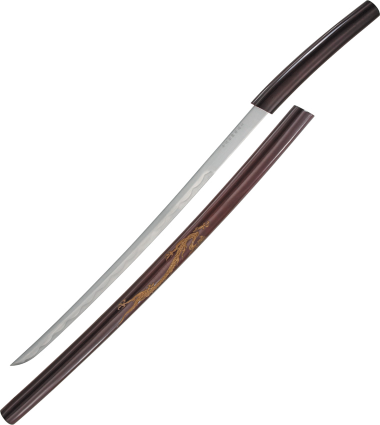 M3585 Curved Shirasaya Sword