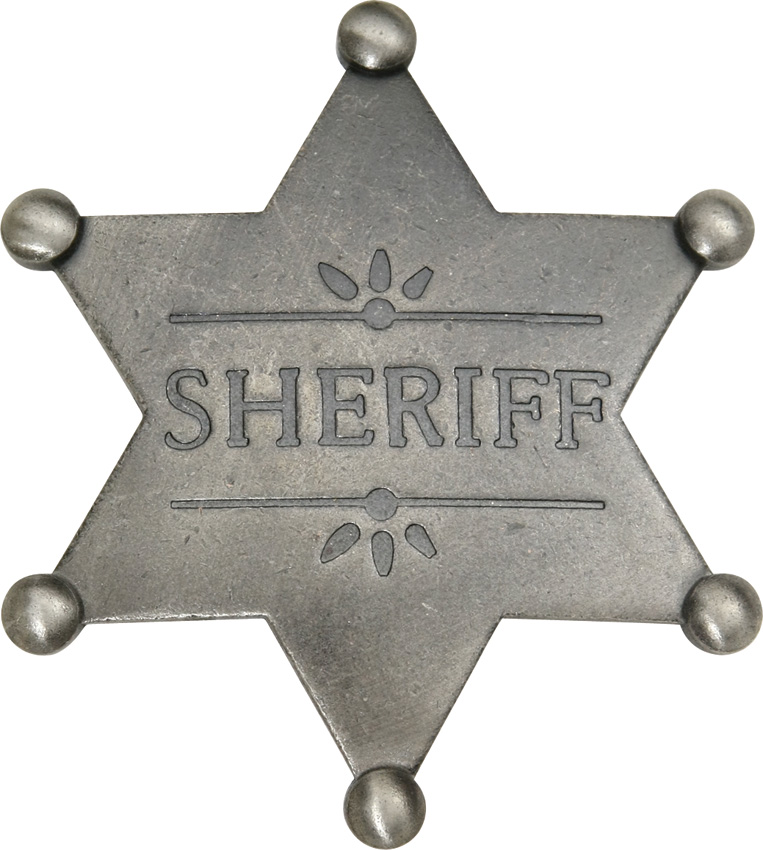 MI3018 Badges Of The Old West Sheriff Badge