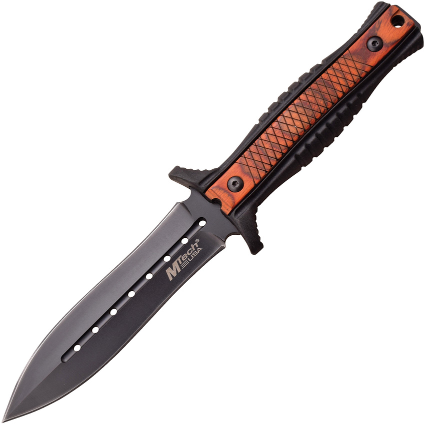 MT2074PW MTech Fixed Blade Knife Brown