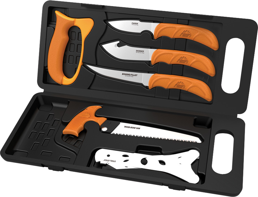 OEWP2 Outdoor Edge Wild-Pak Game Processing Set