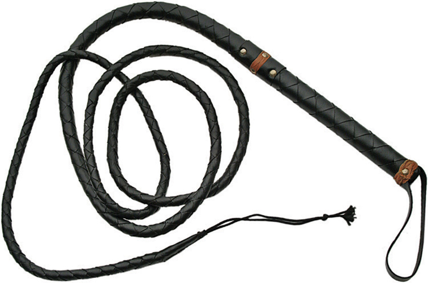 PA18059 Leather Bullwhip