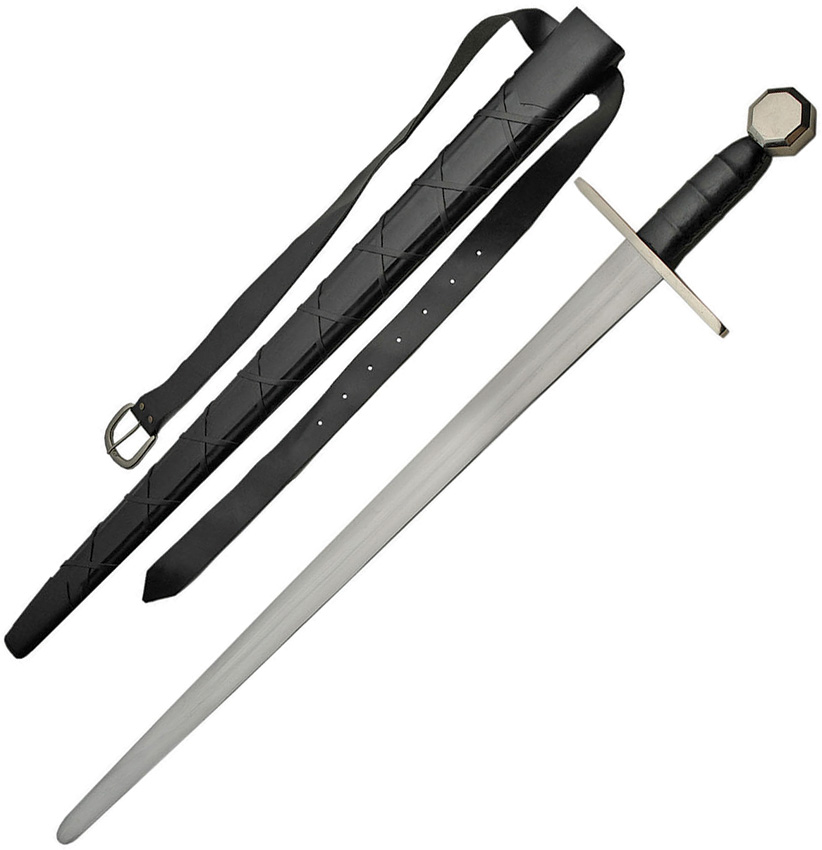 what are medieval swords made of