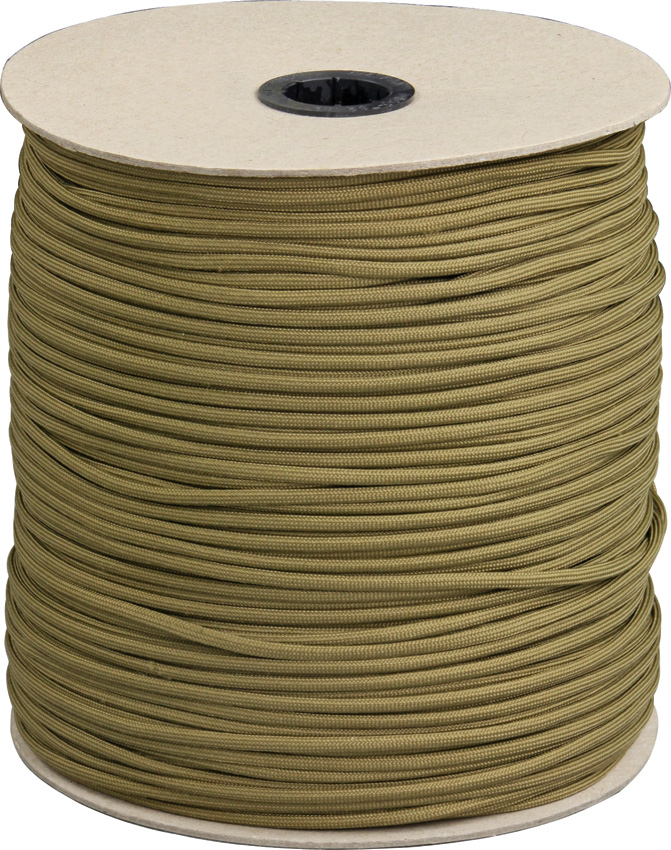 RG1024S Parachute Cord Coyote 1000 Ft