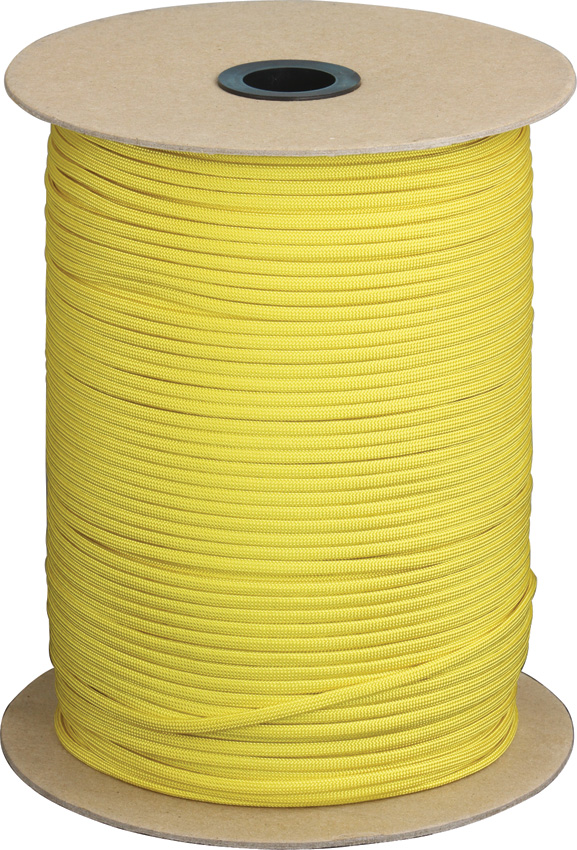 RG108S Parachute Cord Yellow 1000 Ft