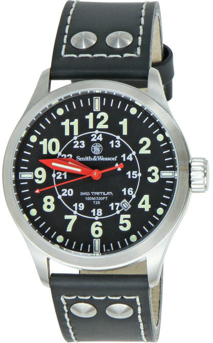 SWWGRH1 Smith & Wesson Mumbai Lamplighter Watch