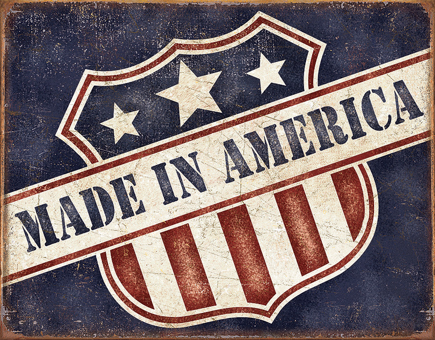 TSN2119 Tin Sign - Made In America