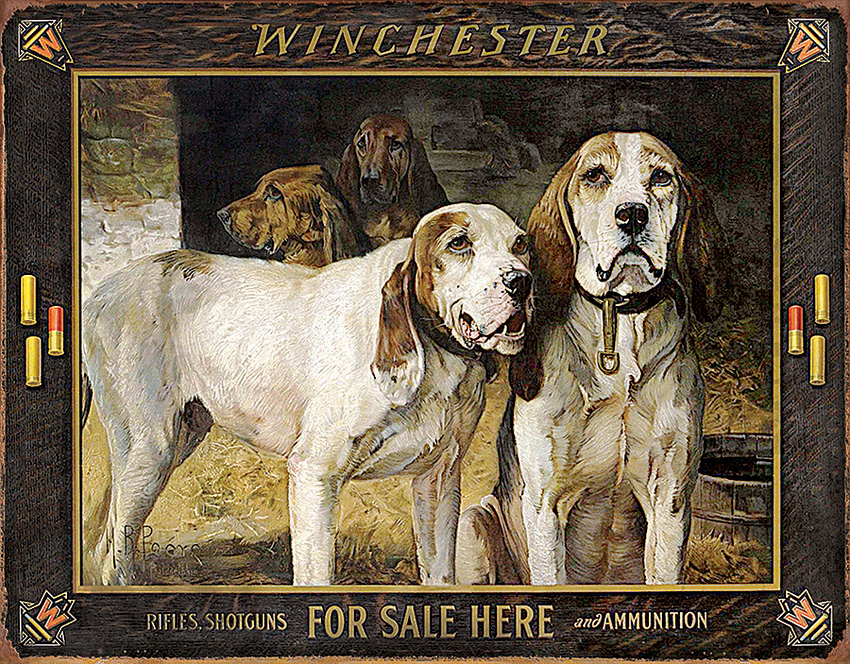 TSN2176 Tin Sign - Winchester For Sale Here