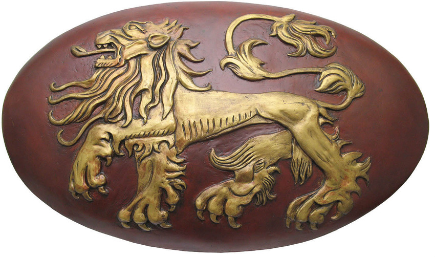 VS0115 Valyrian Steel Lannister Shield