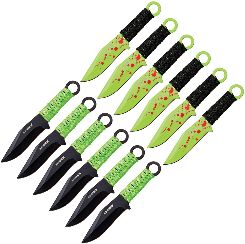 ZB16512 Z-Hunter 12 Piece Throwing Knife Set