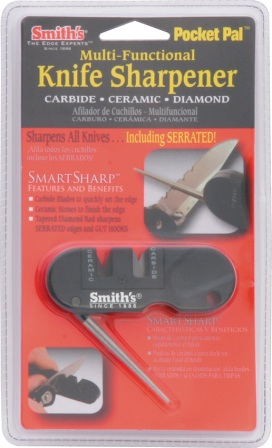AC134 Smith's Pocket Pal Multi-Function Sharpener