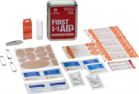 AD0203 Adventure Medical Kits First Aid Tin