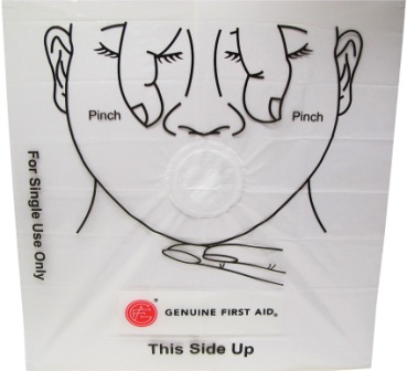 AD0262 Adventure Medical CPR Face Shield