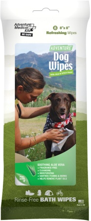 AD0308 Adventure Medical Adventure Dog Wipes