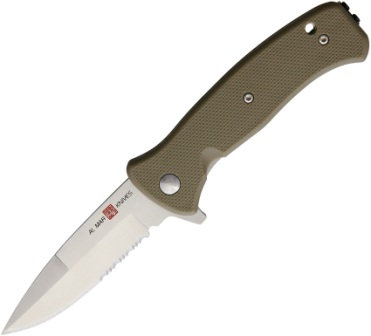 AMK2213 Al Mar Mini SERE 2020 Linerlock Pocket Knife A/O