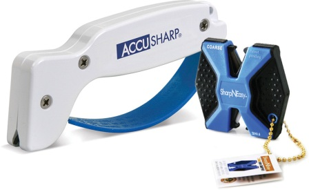 AS044C AccuSharp SharpNEasy Knife Sharpener Combo Blue