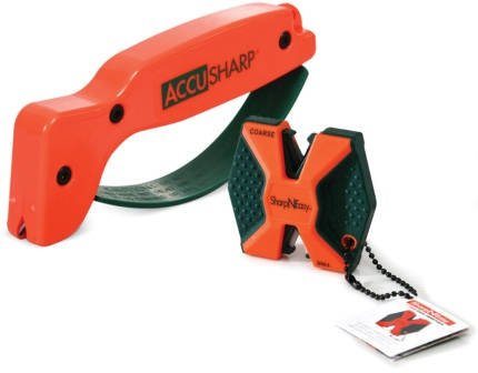AS045C AccuSharp SharpNEasy Knife Sharpener Combo Orange