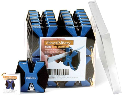 AS334CD AccuSharp SharpNEasy Knife Sharpener Display