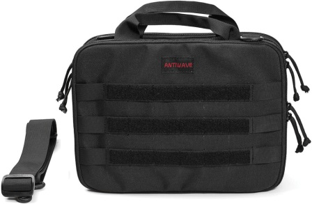 ATWST002 Antiwave Chameleon Tactical Bag Black
