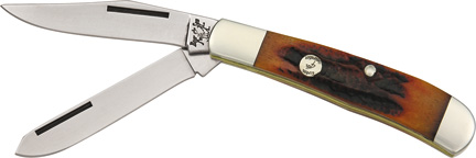 BCCRSB5412 Bear & Son 4th Generation Small Trapper Pocket Knife