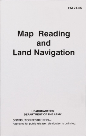 BK194 Map Reading and Land Navigation - Headquarters of the Army