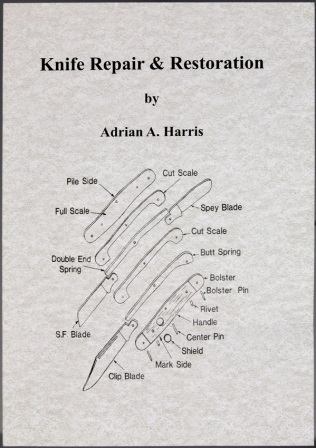 BK239 Book - Knife Repair and Restoration