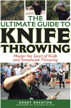 BK337 Book - Ultimate Guide to Knife Throwing