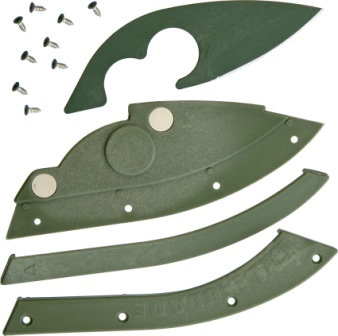 BLB001OD Bill Blade Knife OD Green