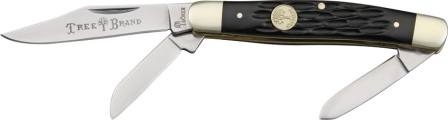 BO110728 Boker Tree Brand Medium Stockman Pocket Knife Black