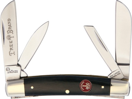 BO110794 Boker Congress Pocket Knife Gray Smooth Bone