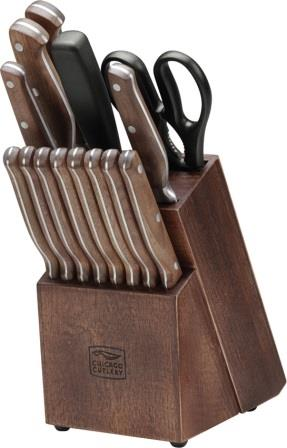 C02362 Chicago Cutlery Precision Cut Kitchen Knife Set