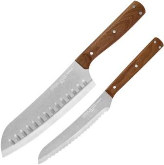 C02400 Chicago Cutlery Rustica Two Piece Knife Set
