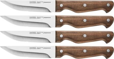 C02419 Chicago Cutlery Precision Cut Steak Knives