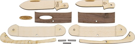 CA12131W Case Wooden Knife Kit Canoe Pocket Knife