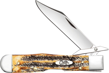 CA65319 Case Cutlery Cheetah Pocket Knife 6.5 Bonestag