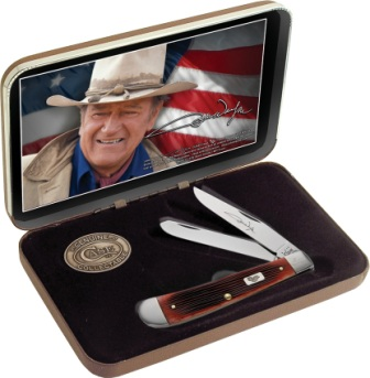 CA7444 Case Team Duke Trapper Pocket Knife Peach Seed Bone