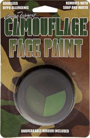 CAM2001 Tri Color Face Paint Kit