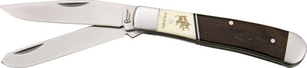 CC0002RS Cattleman's Cutlery Rawhide Trapper Pocket Knife
