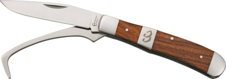 CC0067RW2 Cattleman's Cutlery Stockyard Farriers Companion Knife