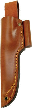 CI13011 Casstrom No. 10 Swedish Forest Knife Leather Belt Sheath with Firesteel Holder