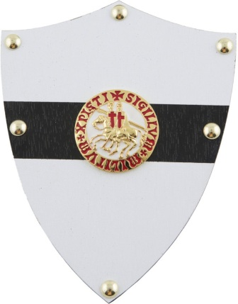 CI1883 Gladius Knights Templar Mini Shield
