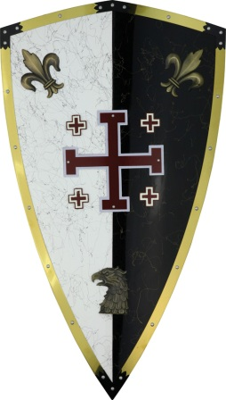 CI808 Armaduras The Knights Of Jerusalem Shield