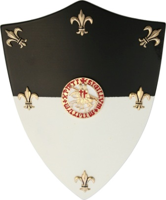 CI885 Gladius Knights Templar Mini Shield