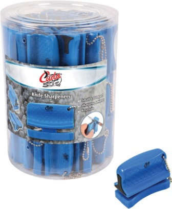 CM23020 Camillus Cuda Bucket of 42 Knife Sharpeners
