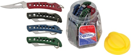 CN21011036 Rite Edge Lockback Pocket Knife 36 Piece Assortment