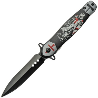 CN211504 Crusader Stilleto Linerlock Pocket Knife