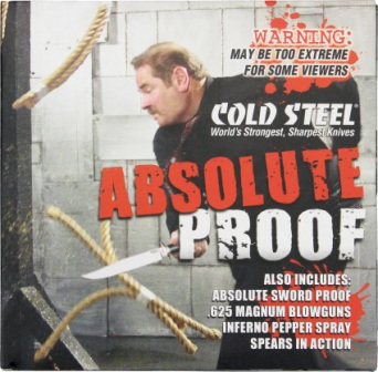 CSDVD2 Cold Steel Aboslute Proof Promotional DVD