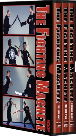 CSVDFM Cold Steel The Fighting Machete DVD Set