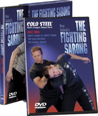 CSVDFS Cold Steel The Fighting Sarong DVD Set