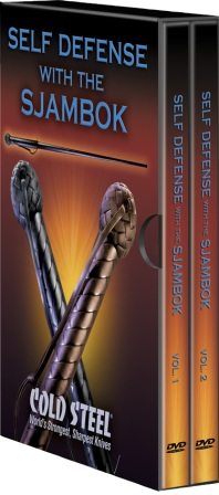 CSVDFSK Cold Steel Self Defense with the Sjambok DVD Set
