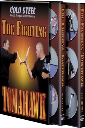 CSVDFT Cold Steel The Fighting Tomahawk DVD Set